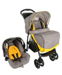 Graco Travel System Mirage Plus Parent - Yellow Grey