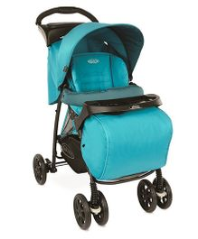 Graco Mirage Plus Lake Stroller - Blue