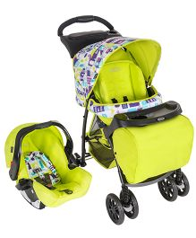 Graco Mirage Plus Toy Town Travel System Green - 7M69TYTE