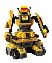 Sluban Space Fighter Blocks Game M38-B7800  - Yellow