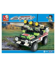 Sluban Off Road Expert Building Block Game M38-B0135 - 164 Pieces