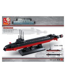 Sluban Nuclear Submarine Construction Set M38-B0391 - 193 Pieces