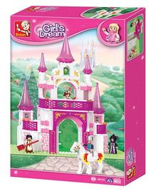 Sluban Dream Palace Blocks Game - Pink