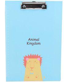 Animal Kingdom Printed Clipboard - Blue