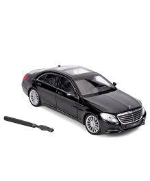Welly Die Cast Mercedez Benz S Class Car Toy - Black