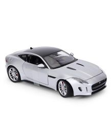 Welly Die-Cast Jaguar Car Coupe - Silver