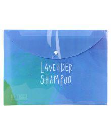 Envelope Folder Pouch - Blue