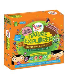 Genius Box Learning Toys For Children Nature Explorer Activity Kit - Black