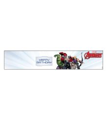 Marvel Avengers Wrist Band - Multicolour