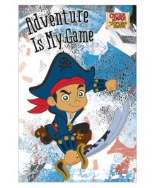 Captain Jake And The Neverland Pirates Vertical Banner 04 - Blue White