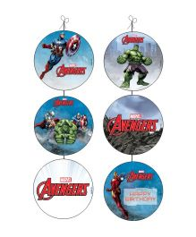 Marvel Avengers Danglers - Multi Color