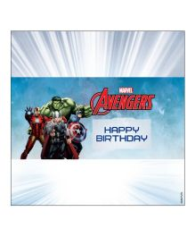 Marvel Avengers Chocolate Wrappers - Multi Color