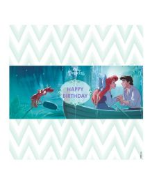 Disney Ariel the Mermaid Chocolate Wrappers - Blue