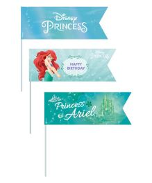 Disney Ariel The Mermaid Picks Pack of 20 - Green