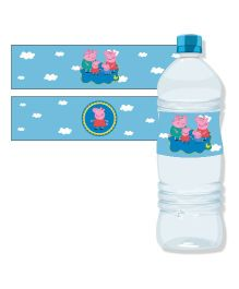Peppa Pig Water Bottle Labels - Pack Of 10
