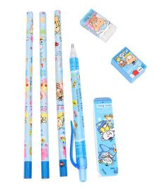 Stationary Set Pack of 7 - Blue