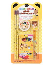Stationary Set Pack of 6 - Yellow