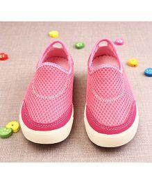 Walktrendy By Walkinlifestyle Slip-on Style Athletic Shoes - Pink