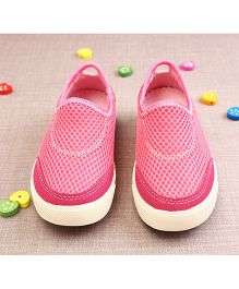 Walktrendy By Walkinlifestyle Slip-on Style Athletic Shoes - Pink
