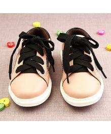 Walktrendy By Walkinlifestyle Sneaker Shoes - Peach