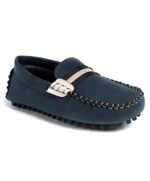 Cute Walk by Babyhug Slip-on Loafers - Navy Blue