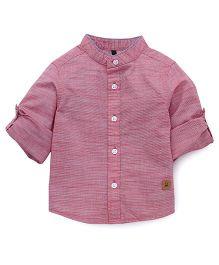 UCB Full Sleeves Shirt - Pink