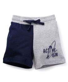 UCB Shorts Activism Print - Grey Blue