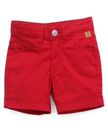 UCB Solid Color Shorts - Red