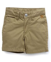 UCB Solid Color Shorts - Beige