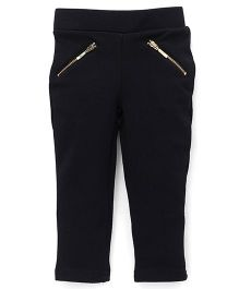 UCB Full Length Jeggings Solid Color - Dark Navy Blue