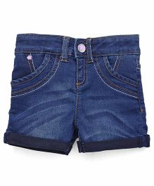 UCB 4 Pocket Denim Shorts - Blue