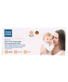 Mee Mee Ultra Thin Disposable Nursing Breast Pad - Pack of 12