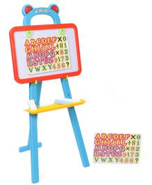 Playmate 3 in 1 Easel Board Drawing Set - Red And Blue