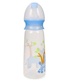 Mee Mee Plastic Feeding Bottle Blue - 250 ml