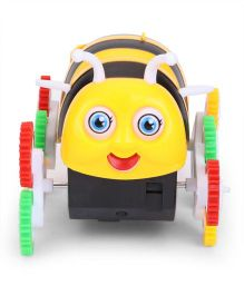 Playmate Funny Bee Wind Up Toy - Yellow And Black