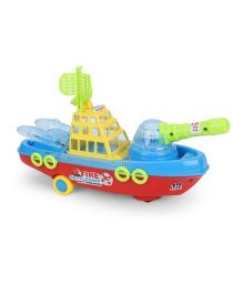Playmate Fire Battle Ship - Blue