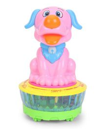 Playmate Dance Puppy Toy - Pink