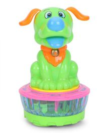 Playmate Dance Puppy Toy - Green