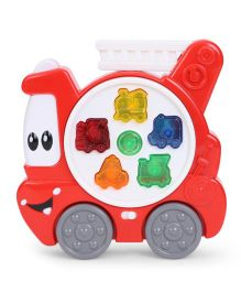 Playmate Musical Fire Engine - Red