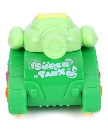 Playmate Friction Tank War Toy - Green