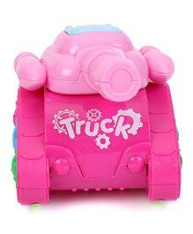 Playmate Friction Tank War - Pink