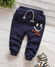 Dells World Smiley Winked Joggers - Blue