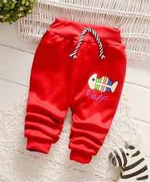 Dells World Stylish Warm Jogger - Red