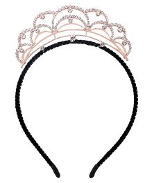 Yashasvi Hair Band Princess Style - Golden And Black