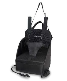 Playette 5 Point Harness Pop Up Booster Seat - Black
