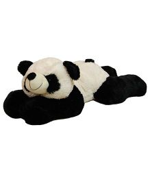 Surbhi Lying Panda Soft Toy Black White - 86 cm