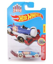 Hot Wheels Holiday Racers Carbonator - Red White Blue