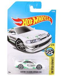 Hot Wheels Custom 01 Acura Integra GSR - White Green