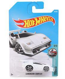 Hot Wheels Lamborghini Countach - White