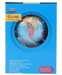 Winner's Oranate Globe 606 - Blue & Black